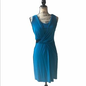 Vince Camuto size Small - blue wrap dress